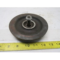 """1-08601-010 Cleveland Tramrail H-1/4 Carrier Trolley Wheel 4-7/16"""" Dia."""