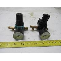 Wilkerson R00-02-000 Pressure Regulator 1/4? NPT W/Gauge 0-60PSI Lot of 2