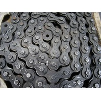 """Morse 100-2C ANSI 100 1-1/4"""" Pitch 2 Strand Cottered Roller Chain 10'"""