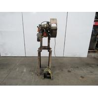 """Rousselle No. 0E Mechanical 5 Ton OBI Punch Press 2"""" Stroke 4"""" Throat 230/460V"""