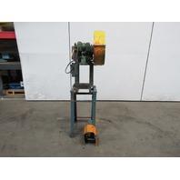 """Rousselle No, 0E Mechanical 5 Ton OBI Punch Press 2"""" Stroke 4"""" Throat 230/460V"""
