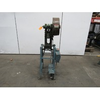 "Alva Allen BT-5 Mechanical OBI Punch Press 5 Ton 1-1/4"" Stroke 4"" Throat 1/3Hp"