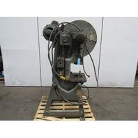 "Press Rite No. 2 Mechanical 20 Ton OBI Punch Press 2-1/2"" Stroke 6"" Throat  3Ph"