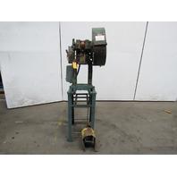 """Rousselle No. 0E Mechanical 5 Ton OBI Punch Press 2"""" Stroke 4"""" Throat 208-230V"""