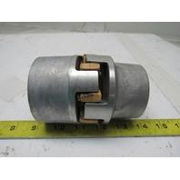 "Rahmer-Jansen D-5980 Spidex ALU/D 38/45 Flexible Motor Coupling 1""- 1-5/8"" Bore"