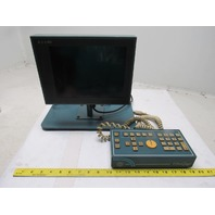 "K J Law G2500 M3300-ES03 Ultra Gage Key Box Pad & 10"" Monitor Display"