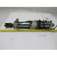"""PHD TDK 1 3/8 X 2 -M Pneumatic Cylinder 2 Stage 1-3/8"""" Bore X 2"""" Stroke"""