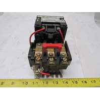 Square D 8536BO2S Ser A Motor Starter Overload 110V Coil 200/230V 460/575V 5Hp