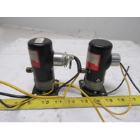 Humphrey 250AE131020 24VDC 0-125PSI Solenoid Valve Lot Of 2