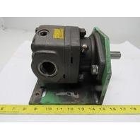 "Parker M2B90658-08 High Speed Hydraulic Motor 7/8"" Shaft 1-5/16"" Ports"