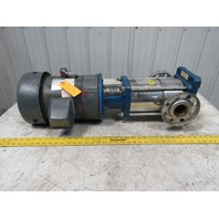 Gould 4SVB1K5C0 7-1/2HP SSV Vertical Inline Multi-Stage Pump 208-230/460V 3Ph