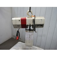Coffing  4016 7 2 Ton Electric Chain Hoist 208V 3Ph 60Hz 15' Lift 16 FPM TESTED