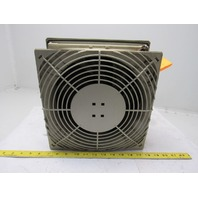 "Pfannenberg IP 55 65000 LI GY 115V Type 12 Fan & Filter 11-3/8"" X 11-3/8"""