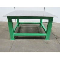 "H.D. 1/2"" Thick Top Steel Fabrication Layout Welding Table Work Bench 60"" x 60"""