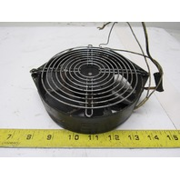"Style Fan 115D20WO 200V 50/60Hz 6-1/2"" Metal Blade Cabinet Cooling Fan"