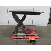 "American Lifts T-36-044  4000Lb Cap. lift table 4'x4' SS Top 9-1/2""-45-1/2"" Ht."
