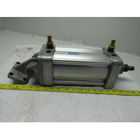 """Festo DNU-4""""-5""""-PPV-A 4"""" Bore 5"""" Stroke 1"""" Rod Clevis Mount Air Cylinder"""