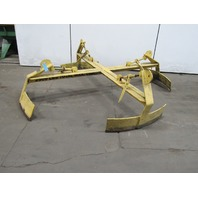 Crane Works 90 Inch Rase Clamp 2500Lb Capacity Spreader Beam Lifting Attachment