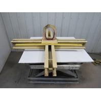 "Crane Works 6000 Lb (3 Ton) Capacity Crucible Cross Lifting Bar/Beam 60"" X 60"""