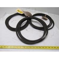 Goodyear BX105 Torque-Flex Matchmaker V-Belt Lot of 3