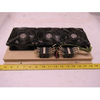Prince UL12C5 200V 50/60Hz Triple Cooling Fan Removed From a Okuma  LC20-2ST