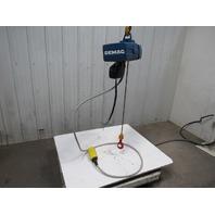 "Demag DKUN 2-125 K V2 F4 Electric Chain Hoist 275lb 14'10"" Lift  2 Spd 14/55FPM"