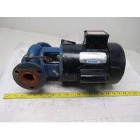 "Leeson A6C17FC80E 1/4Hp 1725RPM 115/230V 1-1/2"" Flange Centrifugal Pump"
