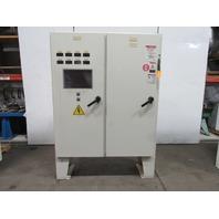 "Hoffman A72X6118LPFTC JIC Electrical Enclosure Box 2 Door Disconnect 72""x61""x18"""