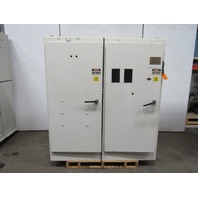 """SCE AX102896 Electrical Enclosure 2 Door W/Disconnect & Back Plate 72""""x65""""x18"""""""