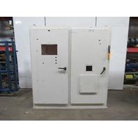 "Klassen JIC Electrical Enclosure Box Cabinet 84x78x18"" 60A Disconnect Back Plate"