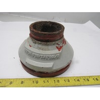 "Victaulic No.50 6"" x 3"" Concentric Pipe Reducer Fitting"