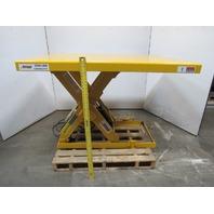"""Autoquip 36S25 2500 LB Scissor Lift Table 6-1/2""""-42-1/2""""HT. 60""""x48"""" Top 460V 3Ph"""