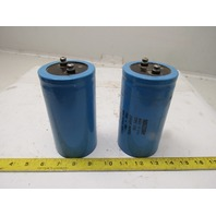 Mallory Type CGS 2400UF 450VDC 525 VDV Surge Capacitor Lot of 2