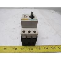 Siemens 3RV1421-1JA10 575V 10Hp 7-10A Trip Range Manual Motor Starter