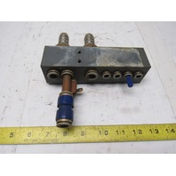 AVS Romer V 43-0077-10.ZF Composite Pneumatic Manifold Block From a L3030 Laser