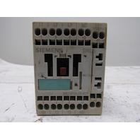 Siemens 3RT1016-2AB01 Sirius 690V 3Ph 7-1/2Hp Contactor Relay 24V Coil