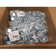 7/8-9 Grade 8 Finish Hex Nuts  Zinc Plated Hardened Lot of 120