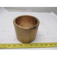 "Georg Fischer 53223 4"" ID Brass Flywheel Shaft Bushing 4-3/4"" OD 3/8"" Wall"