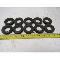 "Climax H1C-118 1-3/8"" Shaft Collar Clamp Black Oxide Steel Lot of 10"