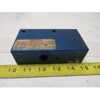 "Aladco 323805 NU-CHECK Pneumatic Valve 3/8"" NPT"