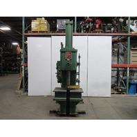 "Fox 25 Ton Hydraulic C Frame Press 24"" Stroke 12"" Throat 18"" Open 208-220/440V"