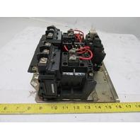 Allen Bradley 505-BOD Ser C Size 1 Reversing Motor Starter Contactor 120V Coil