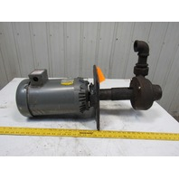 Scot 5Hp Vertical 2-1/2x2 Sealless Centrifugal Pump 208-230/460V 3Ph