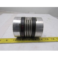 "R & W 1-1/4"" x1-3/8"" Flexible Bellows Shaft Coupling"