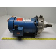 Gould 1MS1F580 MCS 1-1/2Hp 1x1-1/4x6 Centrifugal Pump 208-230/460V 3Ph 3450RPM