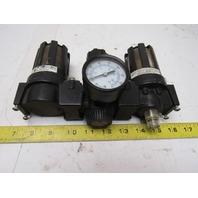 Master Pneumatics Fd60-3 L665-3 R60-3 Filter Regulator Lubricator Assembly FRL
