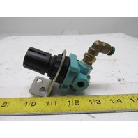 "Wilkerson X10-02-000 Pneumatic Compressed Air Regulator 1/8"" Ports"