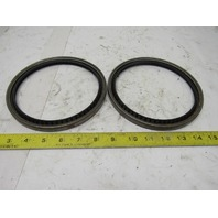 "Garlock 01250x0042 53x3355 Klozure 6"" ID 7"" OD Single Lip Oil Seal Lot Of 2"