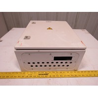 """Rittal AE 1045 19-3/4""""x15-3/4""""x7-1/4"""" Electrical Enclosure Cabinet W/Back Plate"""