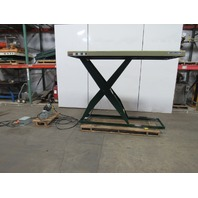 "Southworth LS2-60HC 2000Lb. Hydraulic Scissor Lift Table 96""x48"" Top 460V"